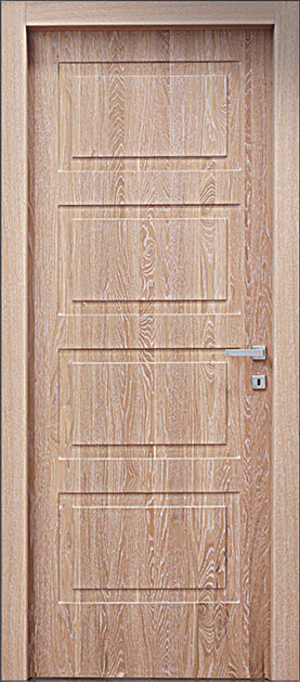 porta pantografata legno
