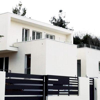 casa moderna bianco