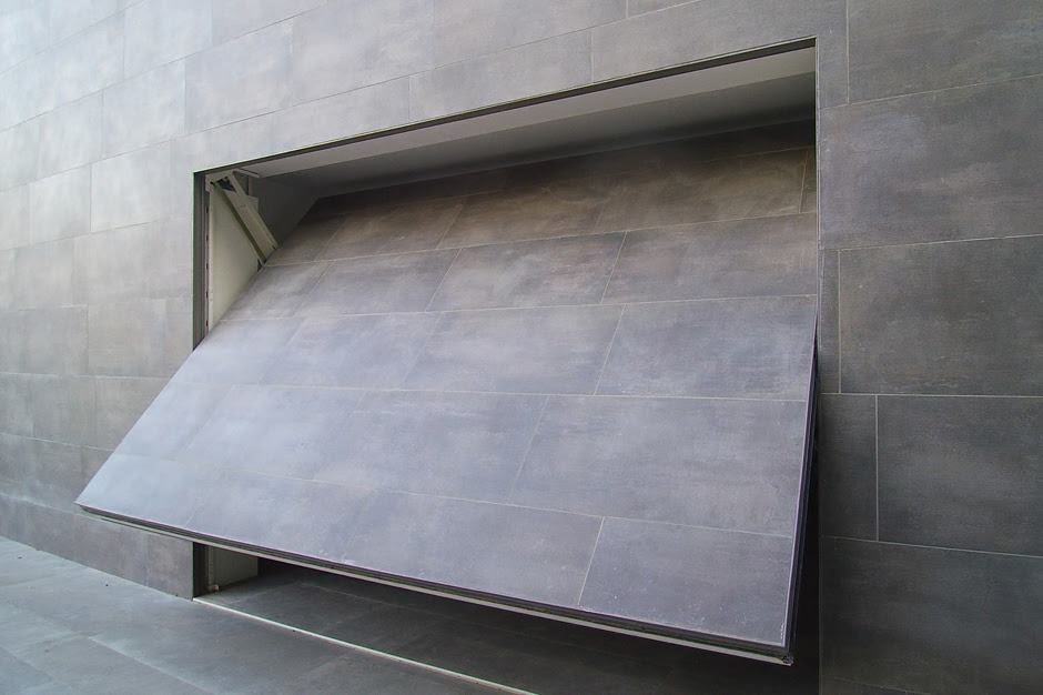porta basculante rasoparete