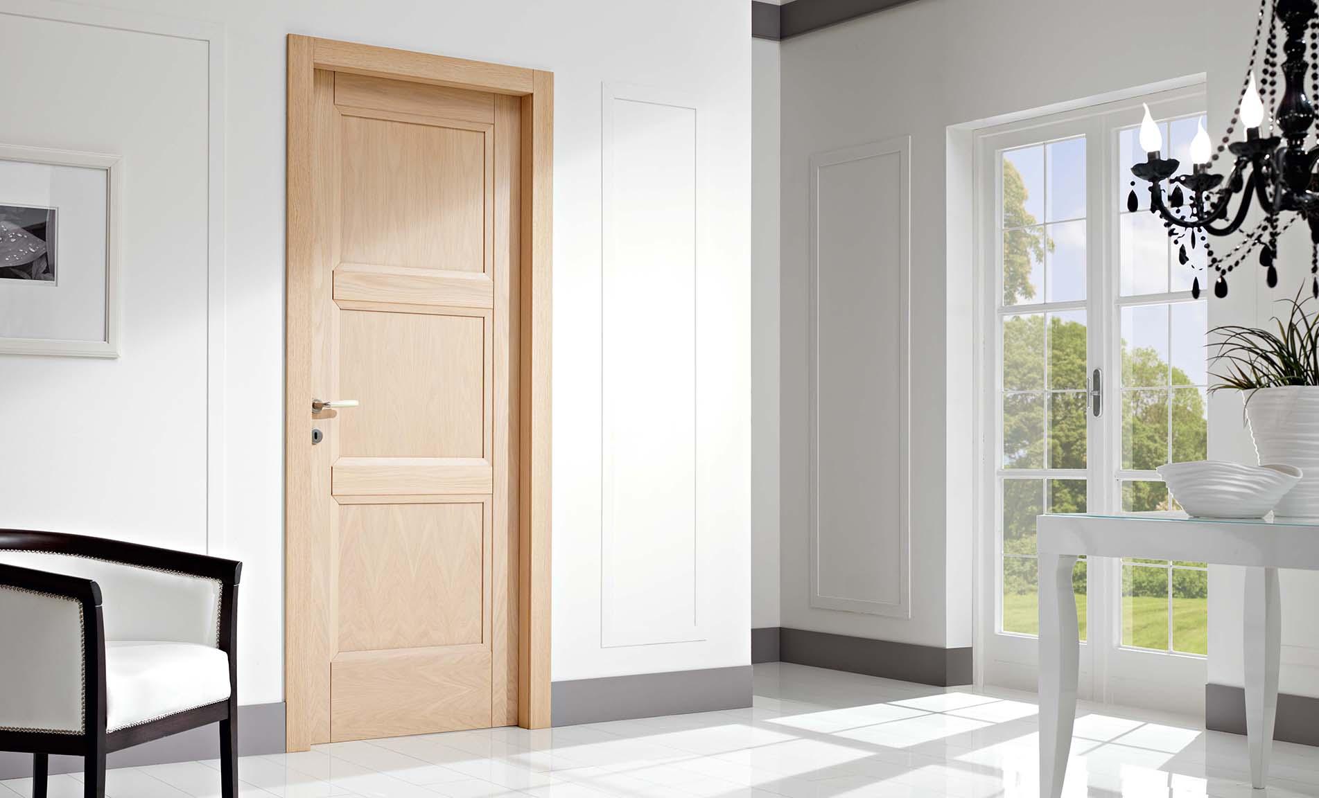 porta in rovere