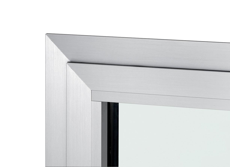 nodo finestra alluminio