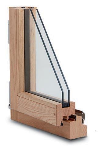 finestra infisso legno 68x66 Lux