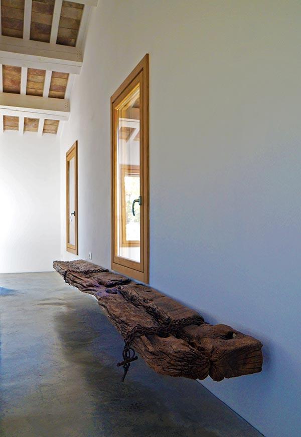 finestra legno 68x66 Lux stile moderno