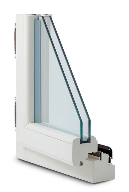 finestra legno 68x66 barocco