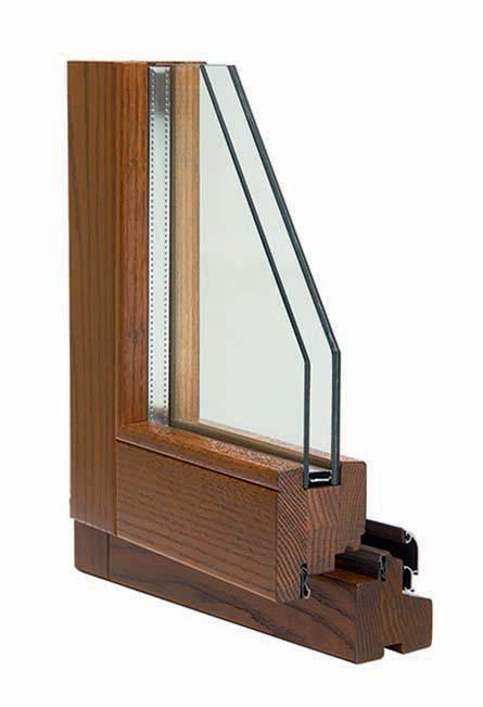 finestra legno 68x86 Linear Plus