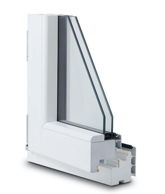 finestra legno alluminio 82x82 interno