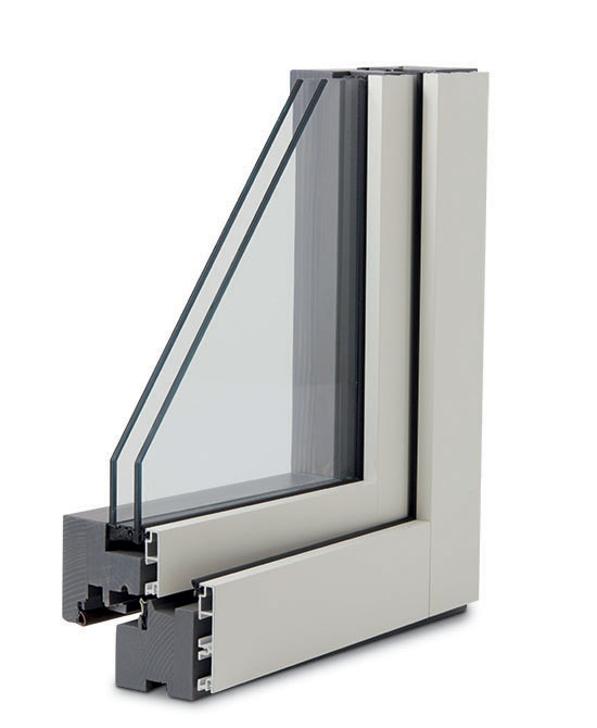 finestra legno alluminio slim lux esterno