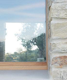 finestra legno tuttovetro