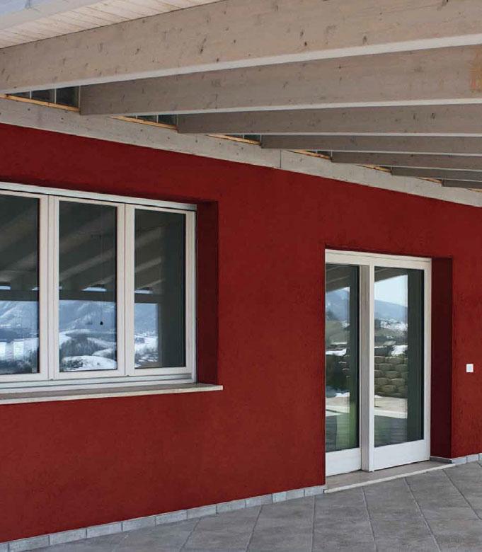 finestra lengo 92x86 Clima Gold ambientata