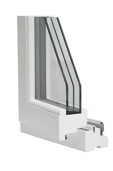 finestra legno 92x86 Clima Gold