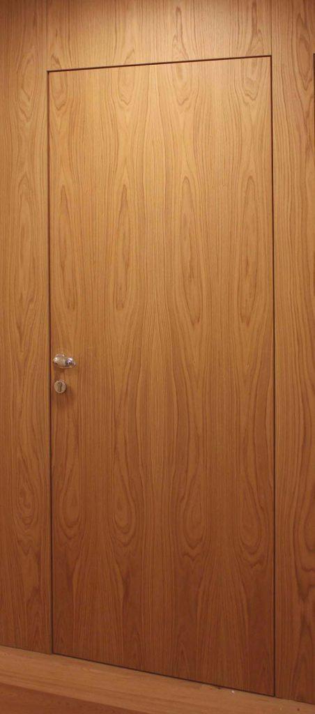 porta rovere rasoparete